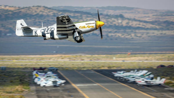 Photograph - Little Horse Gear Coming Up Friday At Reno Air Races 16x9 Aspect by John King
