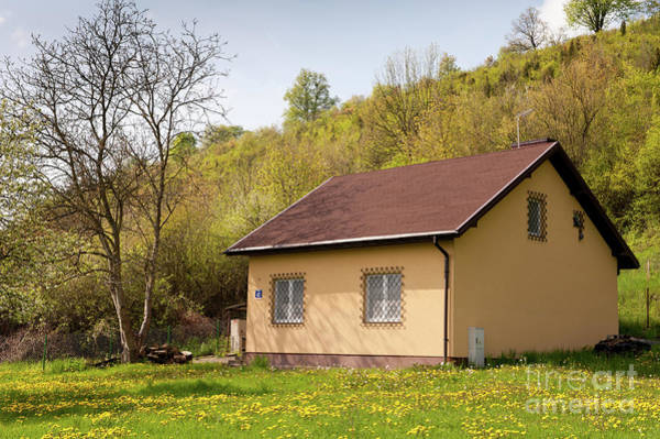 Wall Art - Photograph - Little House Building In Spring by Arletta Cwalina