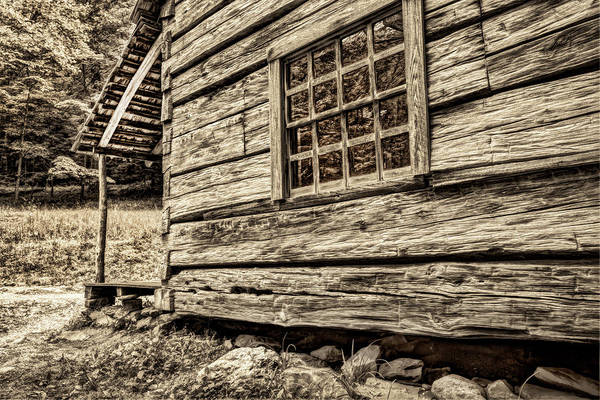 Photograph - Vintage Little House In The Forest by Kay Brewer