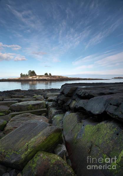 Photograph - Little Island, New Harbor, Maine #8046 by John Bald