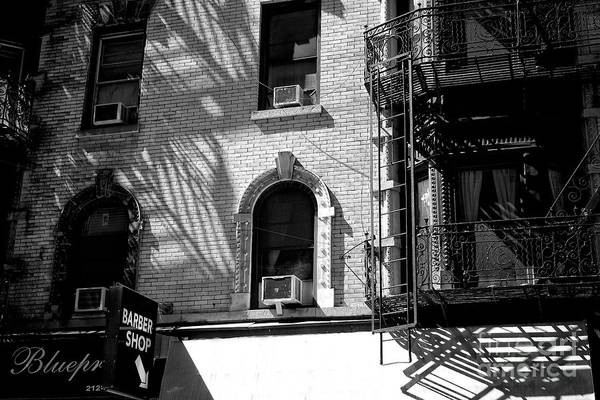 Photograph - Little Italy Barber Shop by John Rizzuto