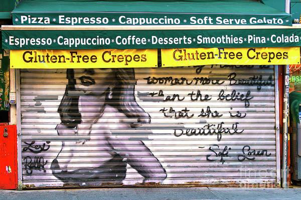 Photograph - Little Italy Graffiti New York City by John Rizzuto