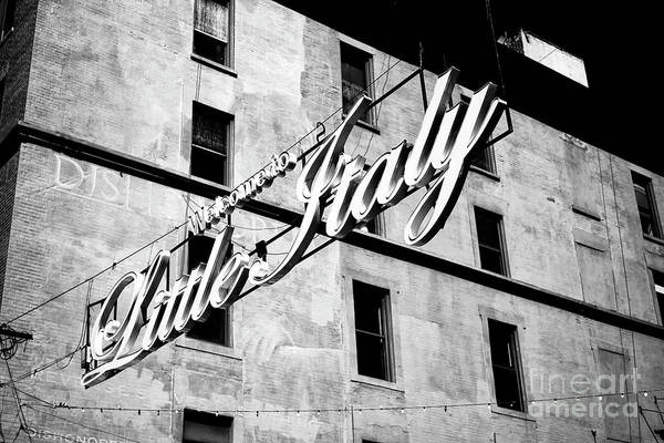Photograph - Little Italy Infrared by John Rizzuto