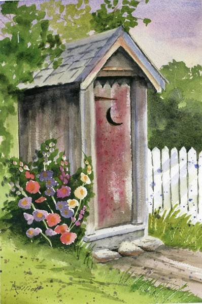 Wall Art - Painting - Little Loo Loo by Marsha Elliott