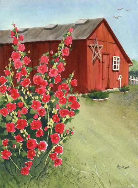 Wall Art - Painting - Little Maders Farm by Marsha Elliott
