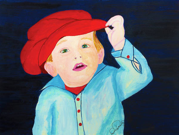 Painting - Little Man by Dee Browning