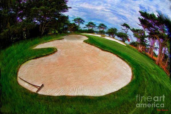 Photograph - Little Man Sand Trap Pebble Beach by Blake Richards