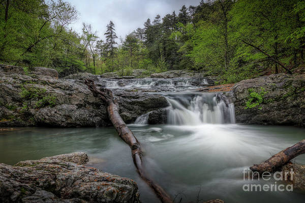 Photograph - Little Missouri Falls 3 by Larry McMahon