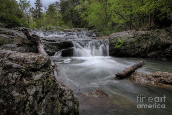 Photograph - Little Missouri Falls by Larry McMahon