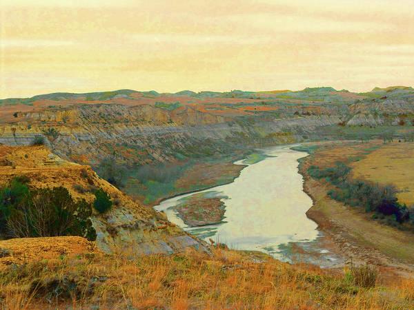 Photograph - Little Missouri River Reverie by Cris Fulton