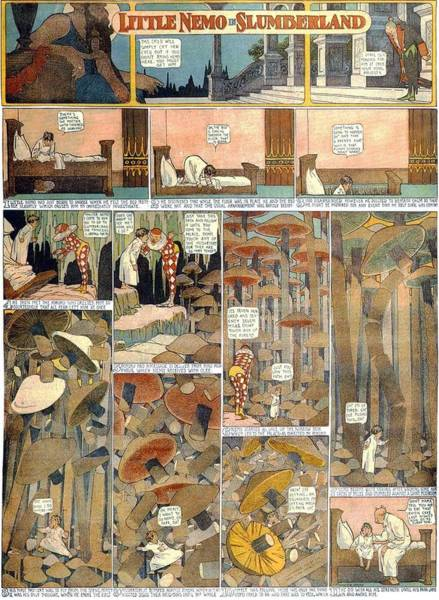 Painting - Little Nemo In Slumberland 1905 Page1 by R Muirhead Art