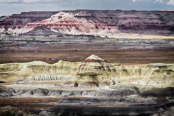 Photograph - Little Painted Desert 3 by Robert Woodward
