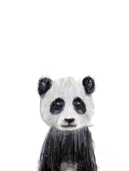 Wall Art - Painting - Little Panda by Bri Buckley