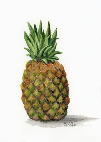 Painting - Little Pineapple by Darice Machel McGuire