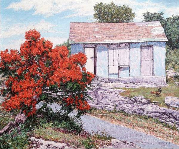 Painting - Little Poinciana by Eddie Minnis