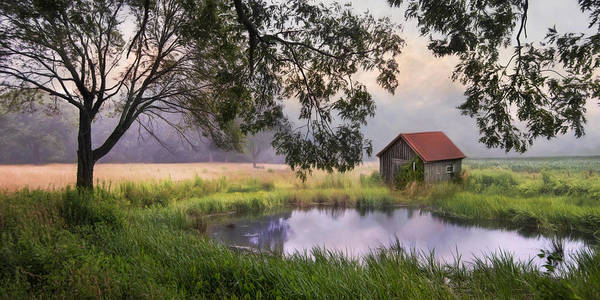 Photograph - Little Pond by Robin-Lee Vieira