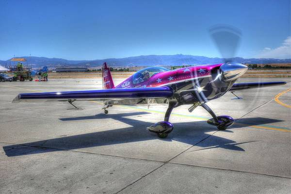 Photograph - Little Purple And Vickey Benzing by John King