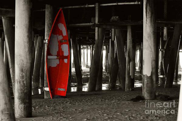 Little Red Boat IIi Art Print