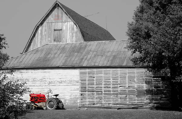 Photograph - Little Red Corvette by Edward Smith
