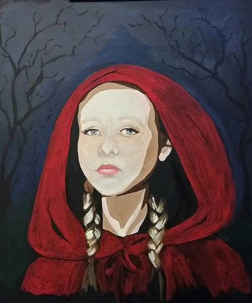 Painting - Little Red Riding Hood by Carole Hutchison