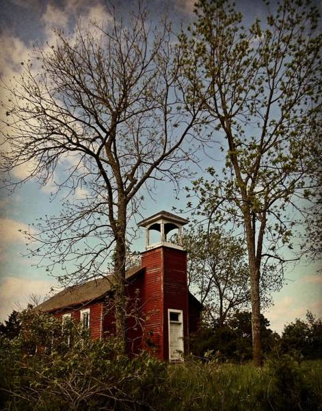Wall Art - Photograph - Old School Aka Little Red Schoolhouse  by Chris Berry