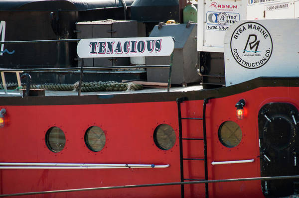 Photograph - Little Red Tug Boat by Stewart Helberg