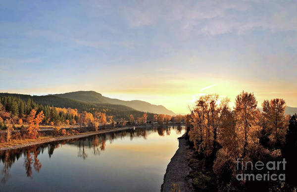 Photograph - Little River In The Fall 3 by Victor K