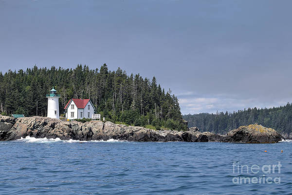 Wall Art - Photograph - Little River Lighthouse by Rick Mann
