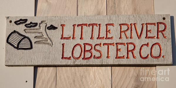 Joshua Clark Photograph - Little River Lobster Co. by Joshua Clark