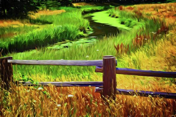 Digital Art - Little River by Richard Farrington