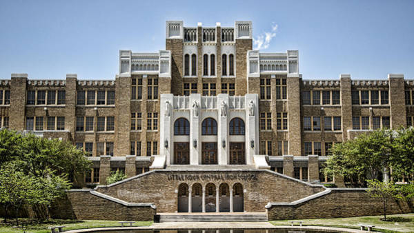 High School Photograph - Little Rock Central High by Stephen Stookey
