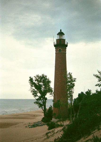 Photograph - Little Sable Point Light by Kenneth Campbell