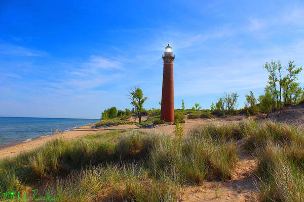 Lighthouse Wall Art - Photograph - Little Sable Point Lighthouse by Michael Rucker