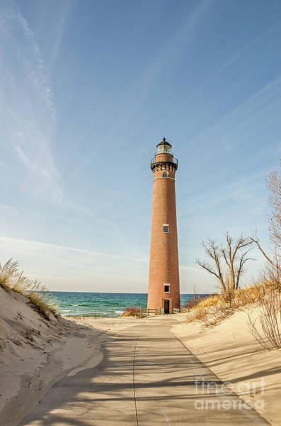Photograph - Little Sable Point Lighthouse by Sue Smith