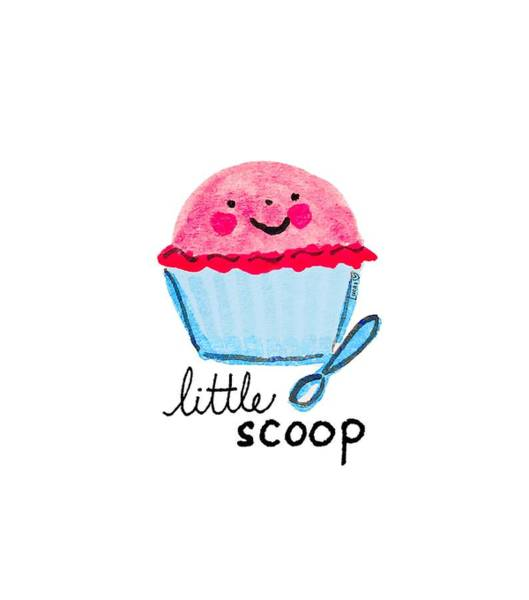 Ice Painting - Little Scoop by Ashley Lucas