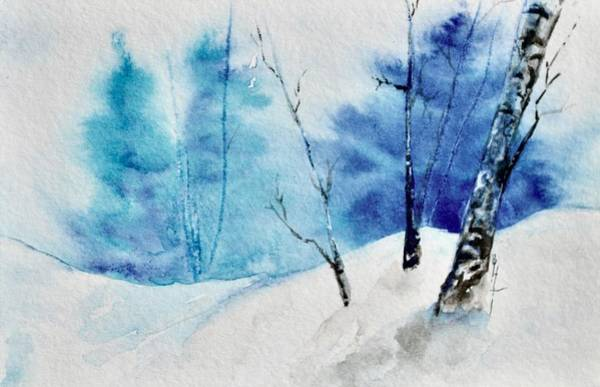Painting - Little Snowscape by Beverley Harper Tinsley