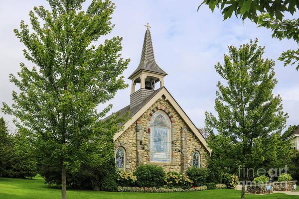 Photograph - Little Stone Church by Rachel Cohen
