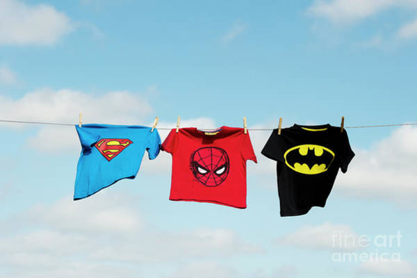 Photograph - Little Superheroes by Tim Gainey