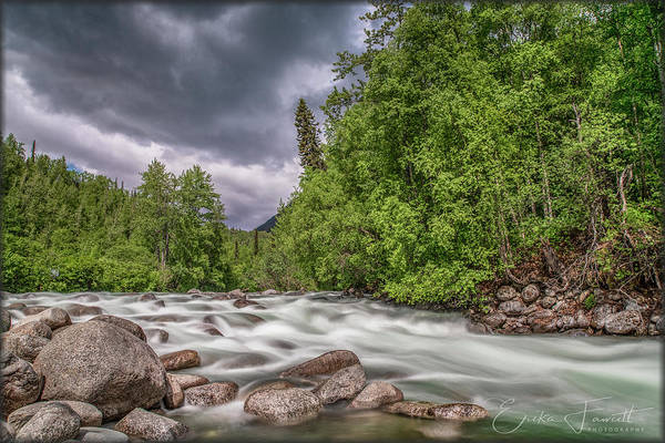 Photograph - Little Susitna River by Erika Fawcett