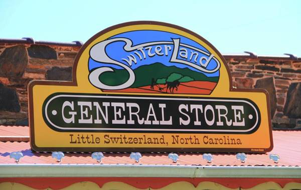 Photograph - Little Switzerland General Store by Dan Sproul