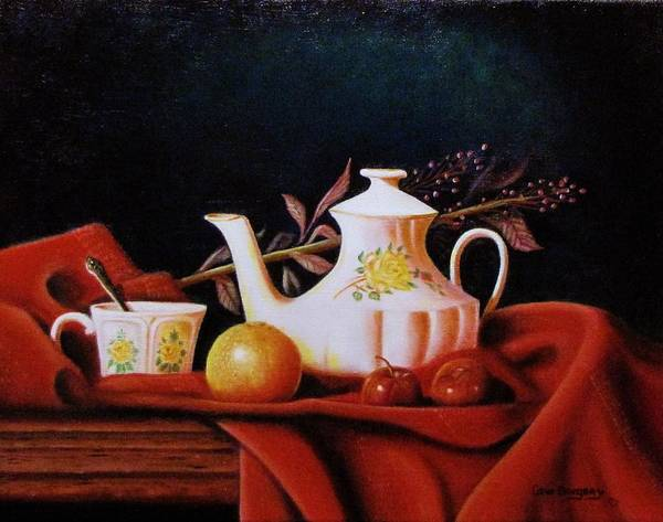 Painting - Little Tea Pot by Gene Gregory