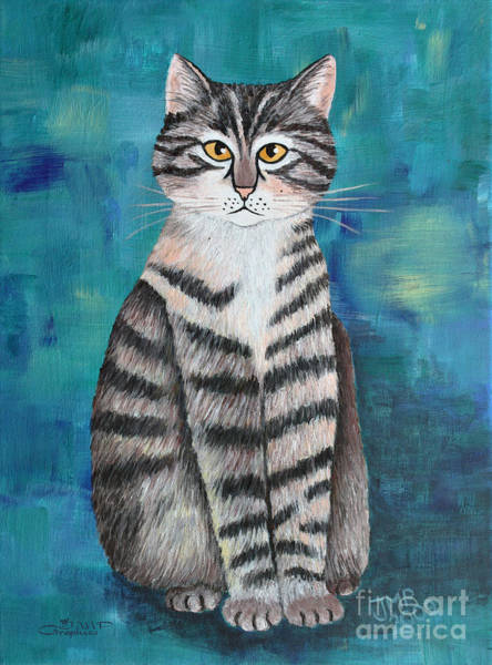 Painting - Little Tiger by Jutta Maria Pusl