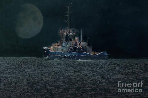 Photograph - Little Tug Boat by Elaine Teague