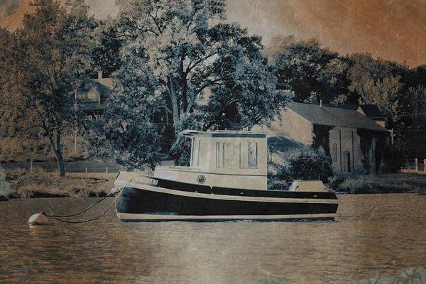 Photograph - Little Tugboat by Michelle Calkins