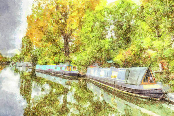 Wall Art - Photograph - Little Venice Art  by David Pyatt