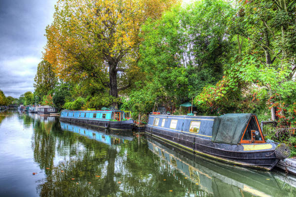 Wall Art - Photograph - Little Venice London by David Pyatt