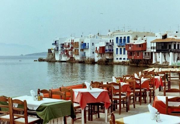 Wall Art - Photograph - Little Venice On Mykonos by Peter Mooyman