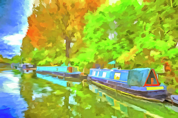 Wall Art - Photograph - Little Venice Pop Art by David Pyatt