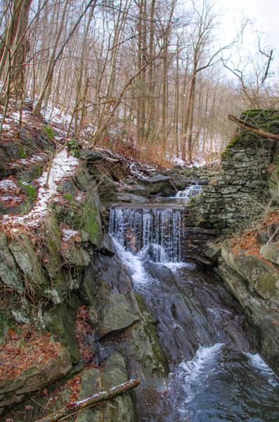 Photograph - Little Waterfall On Wises Mill Road  by Bill Cannon