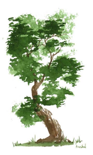 Wall Art - Painting - Little Zen Tree 311 by Sean Seal